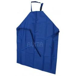 Fartuch dojarza PCV 125/100 niebieski z 1 kieszenią