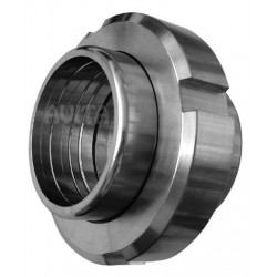 Steel pipe connector - stainless steel 52