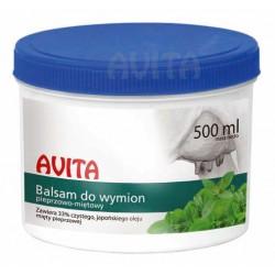 Balsam piepprzowo-mietowy do wymion Avita 500 ml